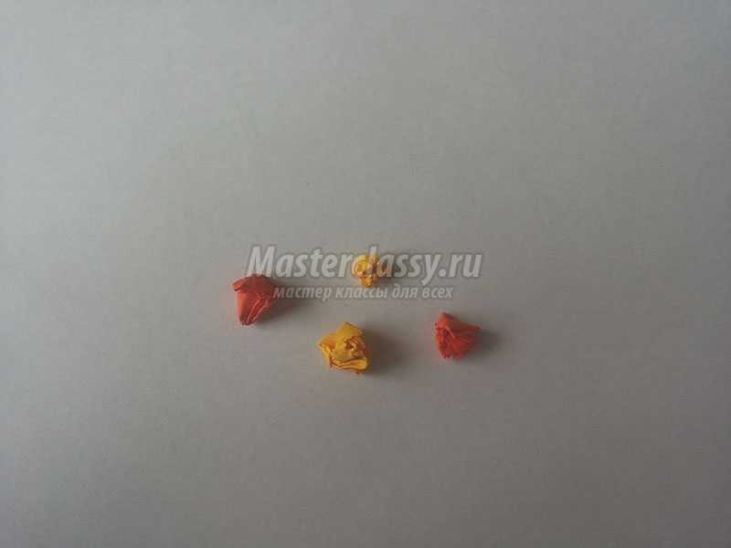 валентинки из цветной бумаги своими руками