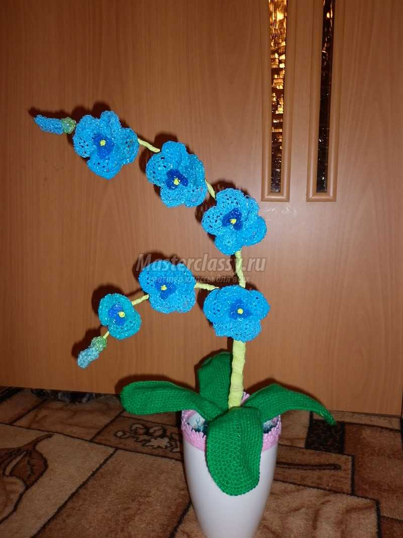 цветы из резиночек своими руками