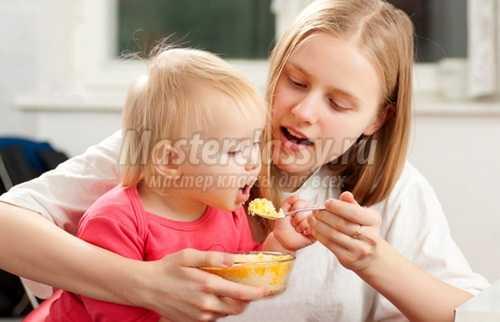 Детские каши: рекомендации по приготовлению