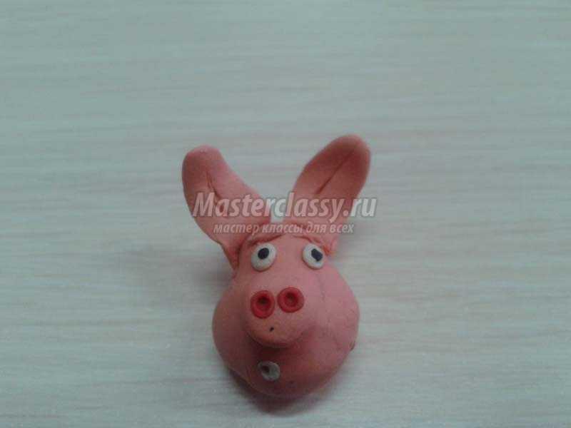 лепка игрушек из пластилина