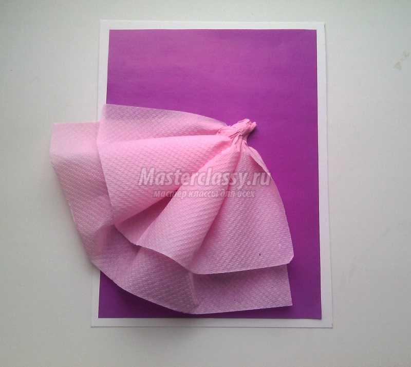 открытка платье своими руками