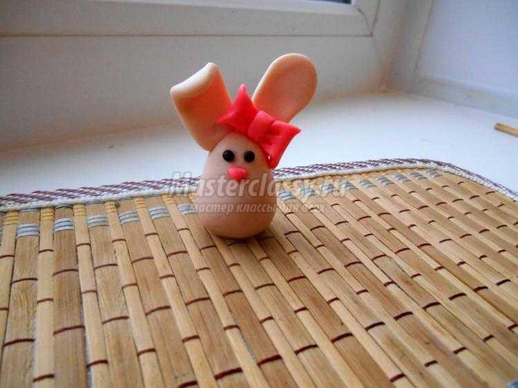 горшочек из веточек пасхальных для яиц