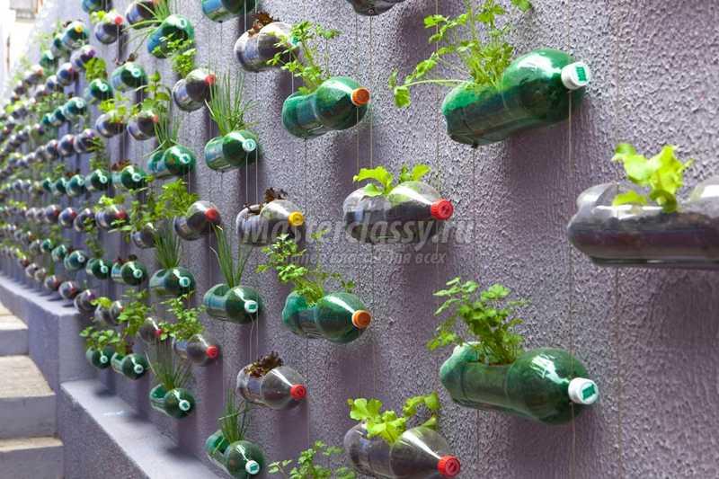 Поделки для сада своими руками