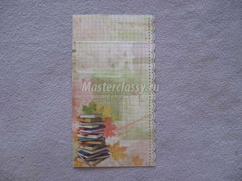 открытки своими руками на день учителя