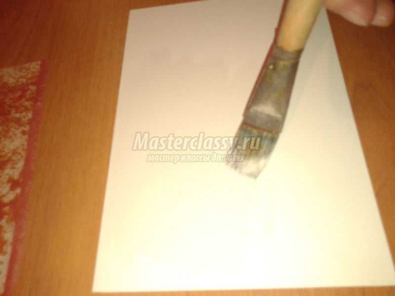 объемная аппликация из бумаги