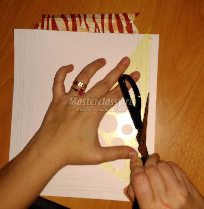 объемные аппликации из бумаги своими руками
