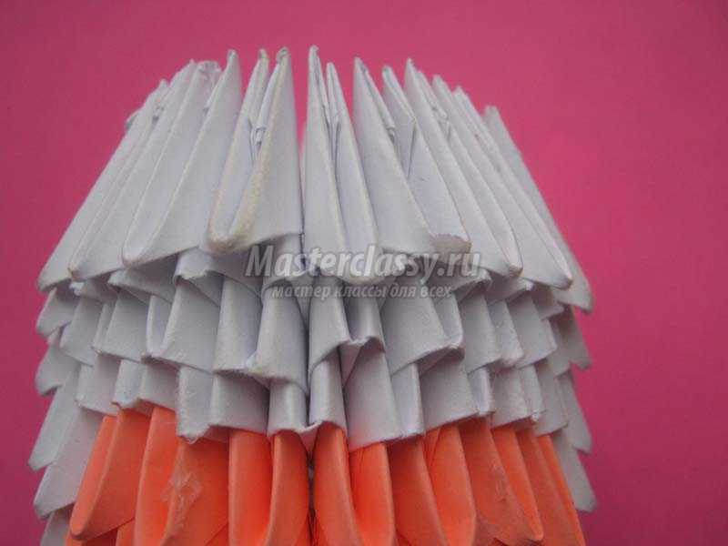 поделки из бумаги своими руками оригами модульное