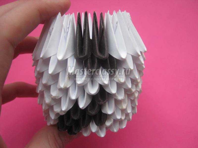 поделки из бумаги модульное оригами