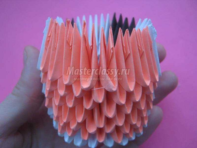 модульное оригами схемы сборки поделки