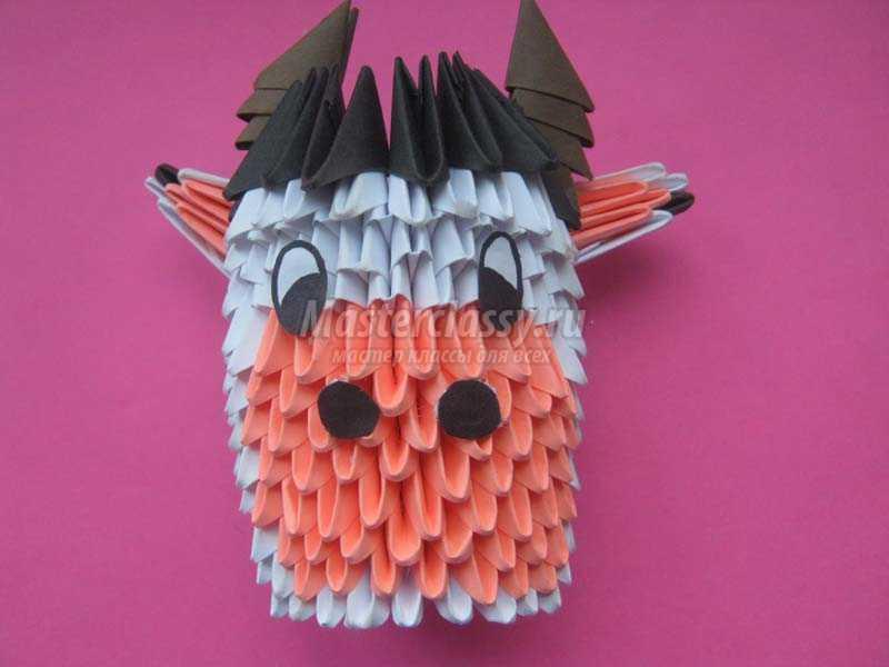 как делают оригами модульные поделки