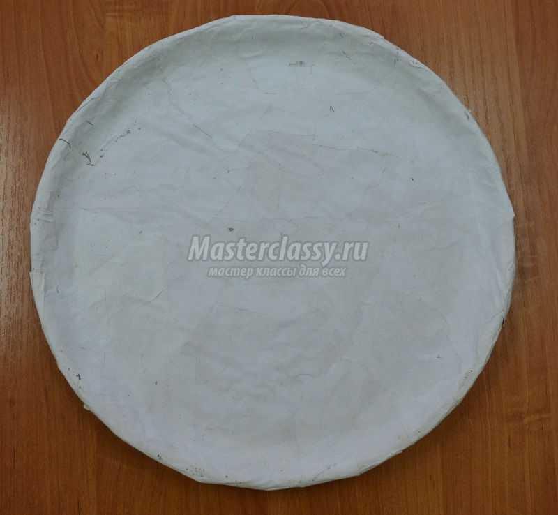 папье маше своими руками тарелка