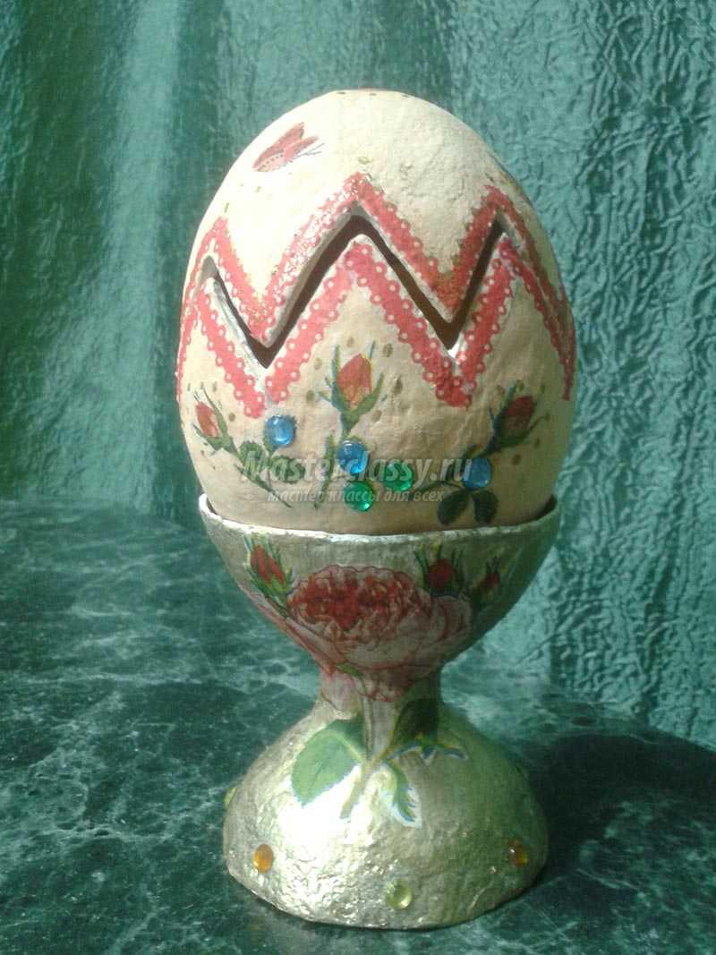 Пасхальное яйцо с цыпленком, Мастер-класс