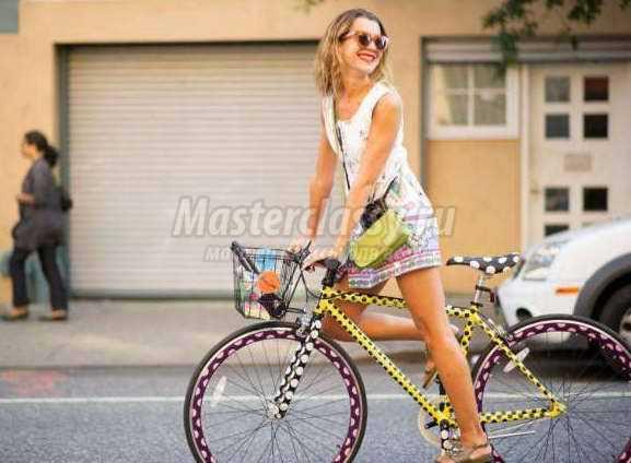 Как можно украсить велосипед своими руками в домашних условиях? 87