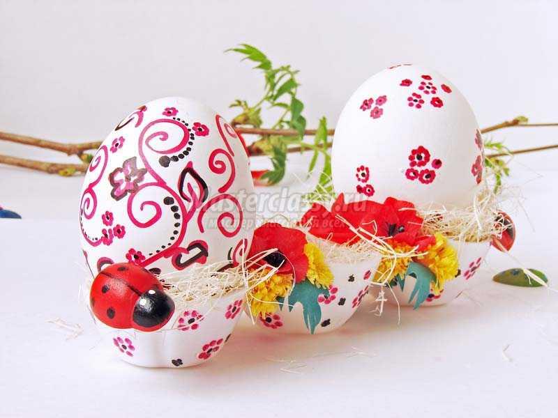 пасхальные поделки подставка для яиц