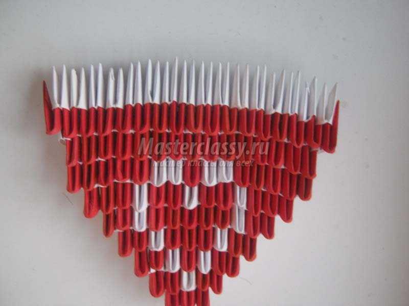 как сделать оригами сердечко