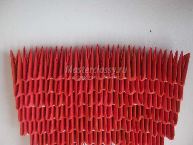 сердечко оригами схема