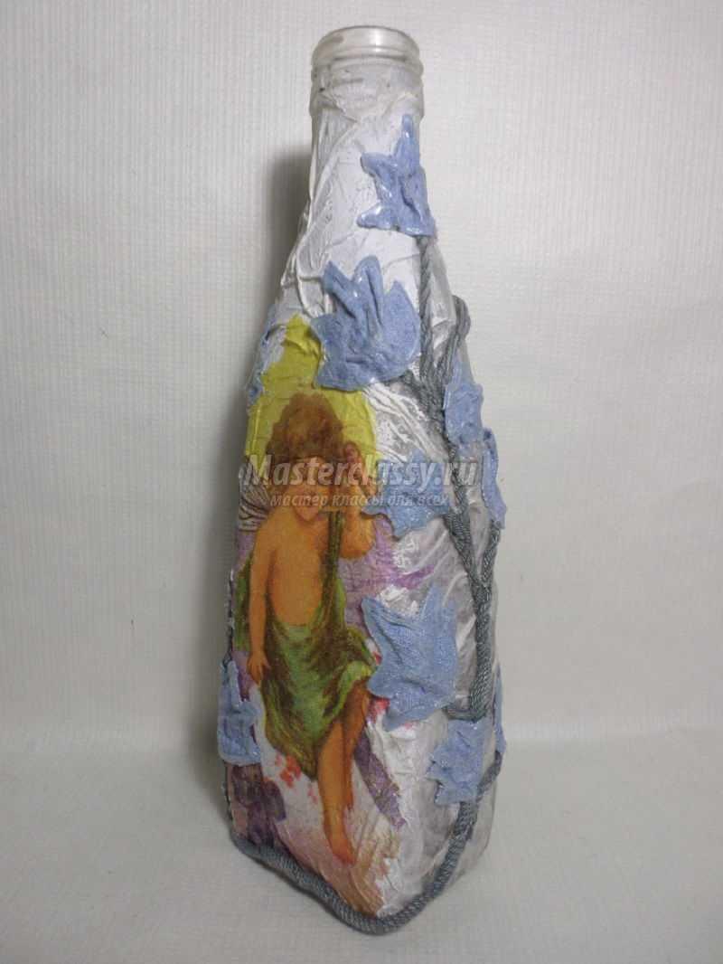 декоративные бутылки для интерьера