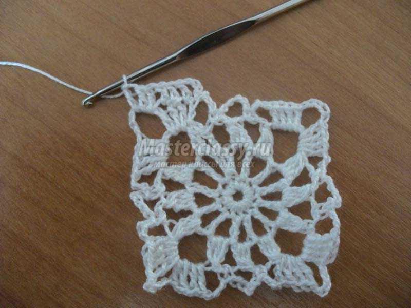 вязание крючком салфетки фото