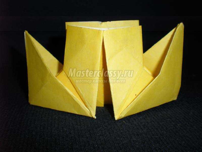 как сделать оригами кораблик