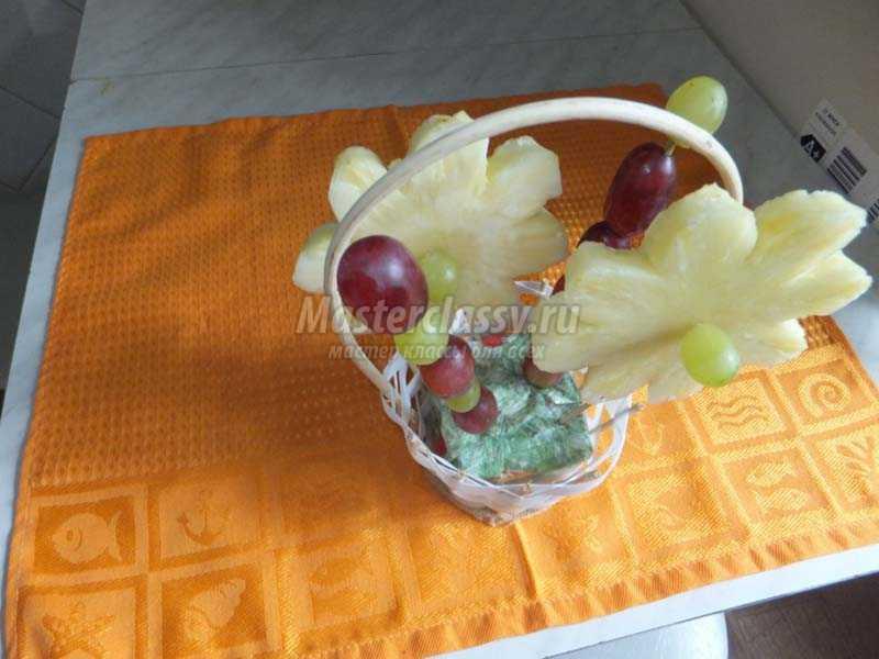 фруктовые букеты фото