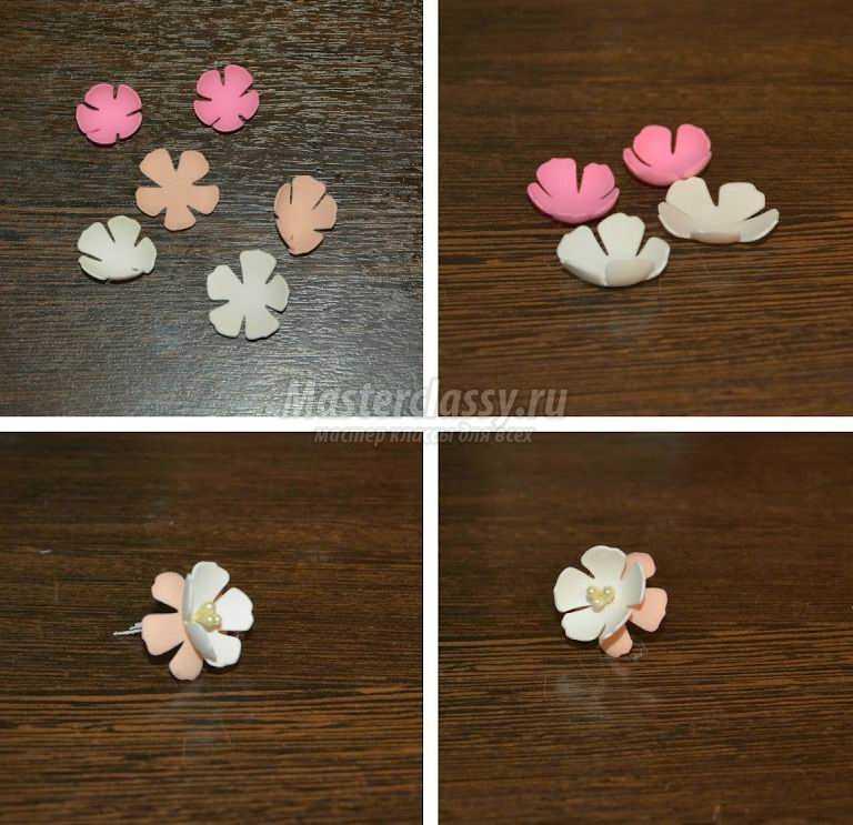 Как сделать цветы из фоамирана? Самые простые варианты для новичков