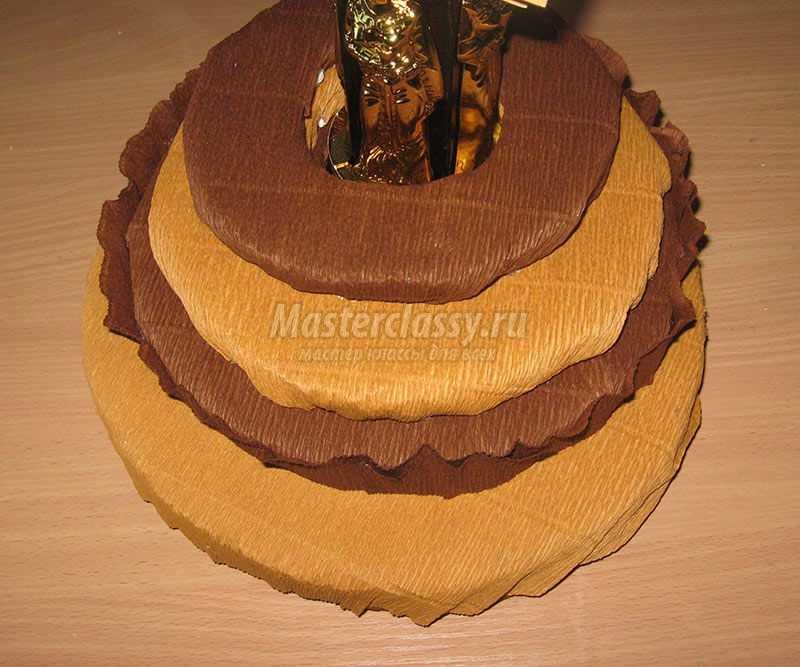 букет конфет мужчине мастер