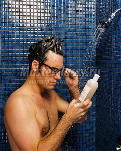 Виды средств по уходу за волосами для мужчин