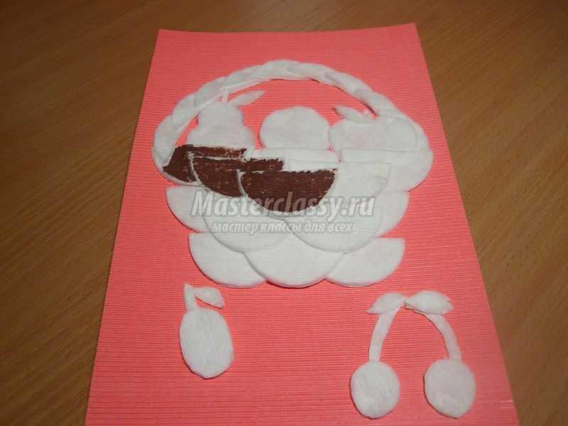 Как из бумаги сделать корзинку с фруктами