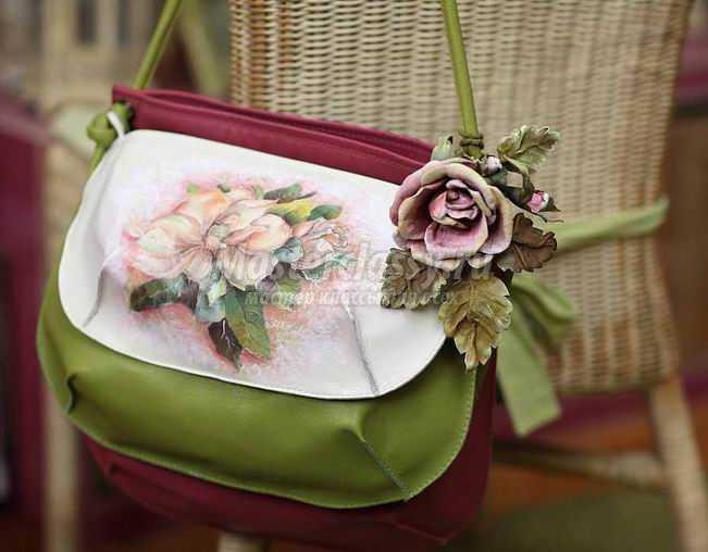 Женские сумки: как декорировать?