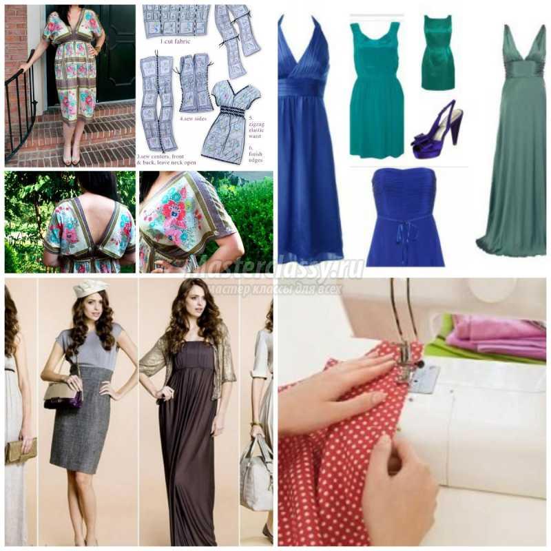 1467001099_collage4352 Простое платье своими руками: выкройки, идеи и подробные мастер-классы