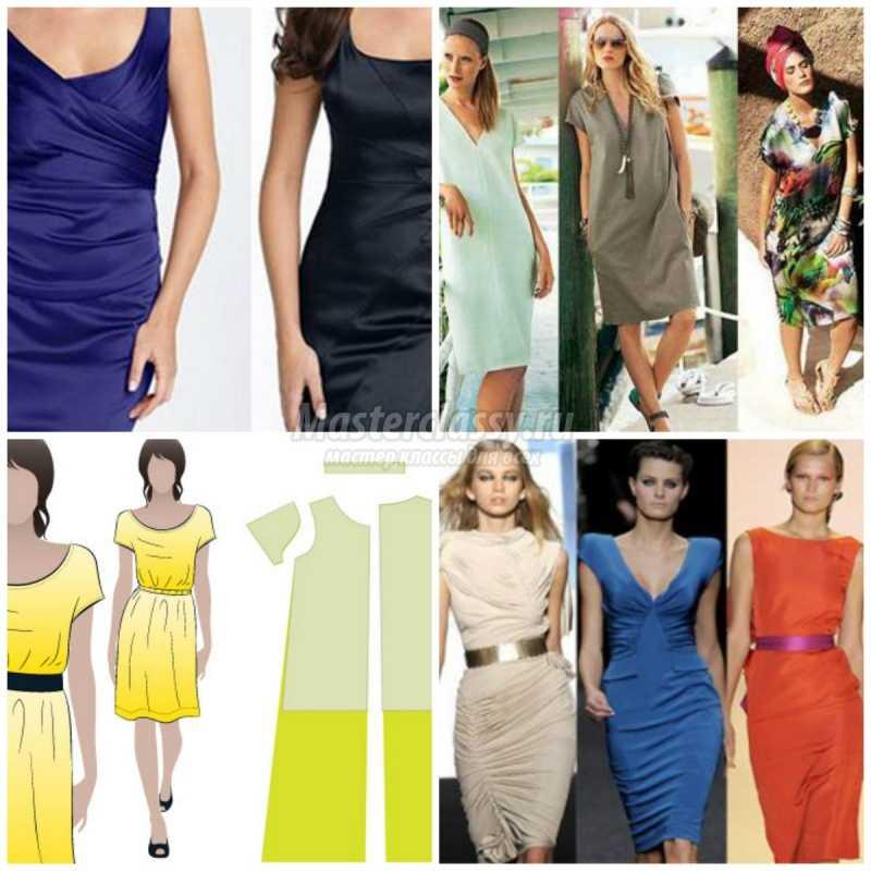 1467001108_collage234242 Простое платье своими руками: выкройки, идеи и подробные мастер-классы