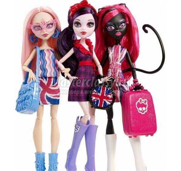 Куклы Монстер Хай - замечательные и немного ужасные герои из Школы Монстров