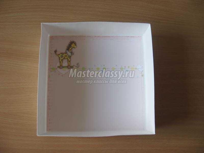 коробочка для крещения