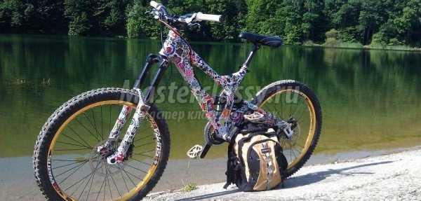 Как можно украсить велосипед своими руками в домашних условиях?