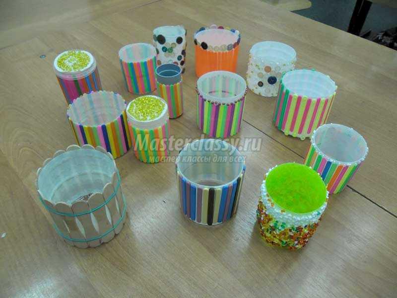 маленькие декоративные баночки