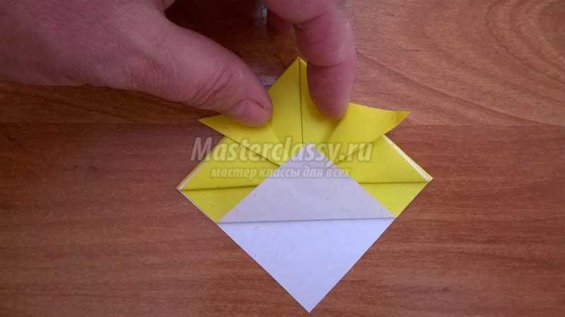 оригами рыбка схема