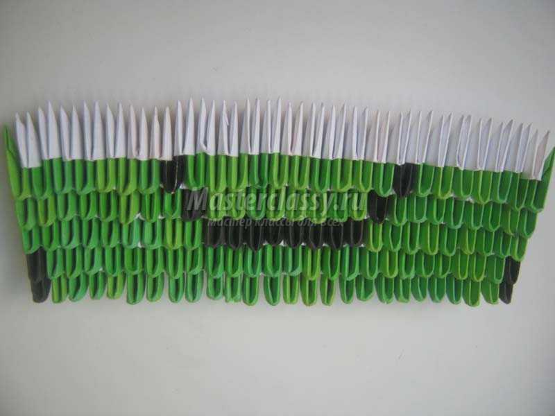 лягушка оригами из бумаги схемы