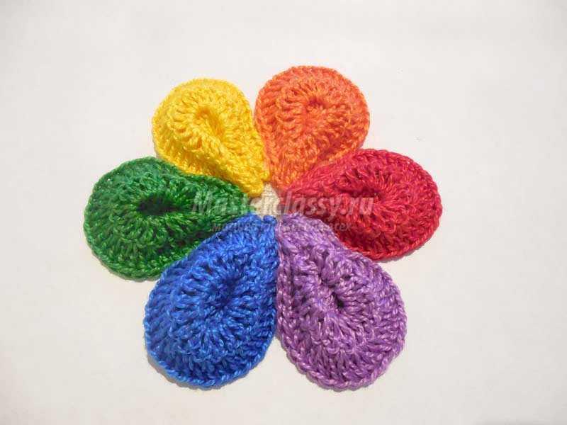 вязаные цветов крючком