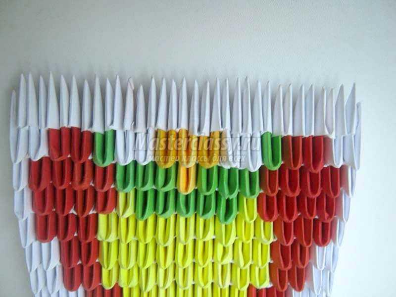 оригами из бумаги сова