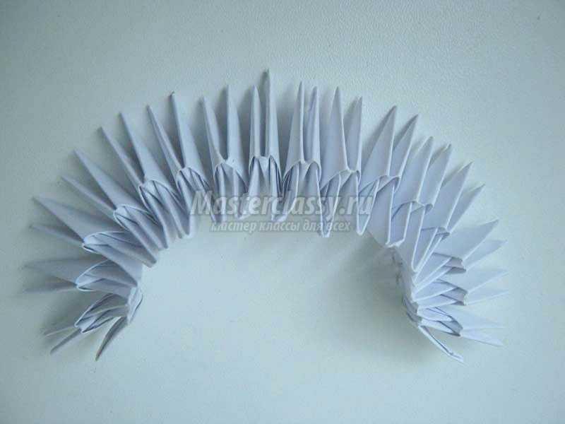 сова из бумаги