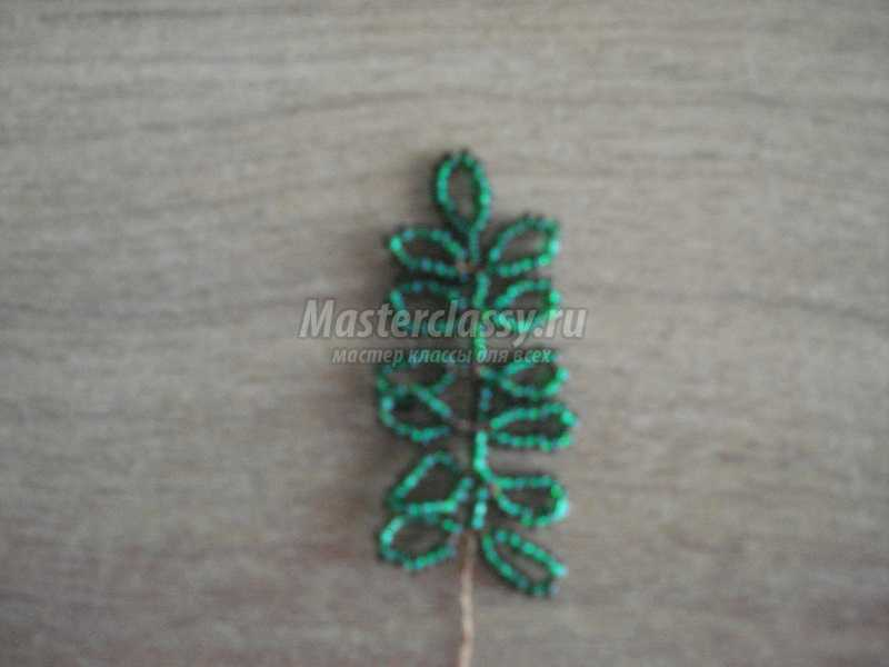 плетение из бисера мастер класс