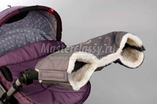 Муфта рукавички для рук на коляску своими руками фото 434