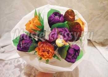 Цветы из бисера своими руками пошагово фото 252