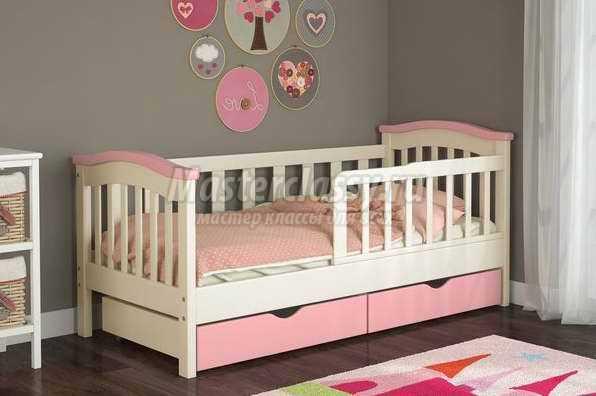 В каком возрасте нужны бортики в детской кровати
