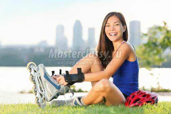 Роликовые коньки: польза для здоровья