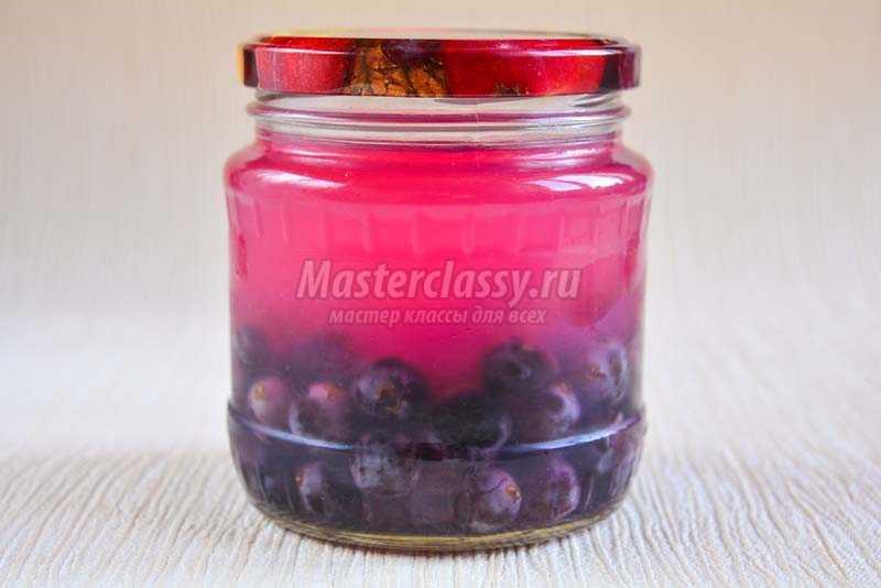 виноградный компот рецепт