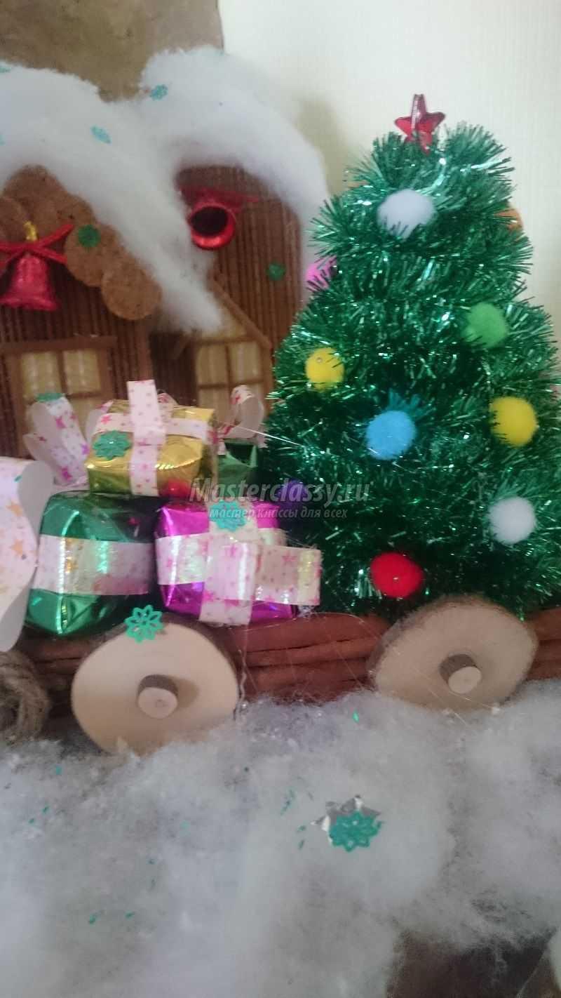 поделки из подручных материалов на новогоднюю тему