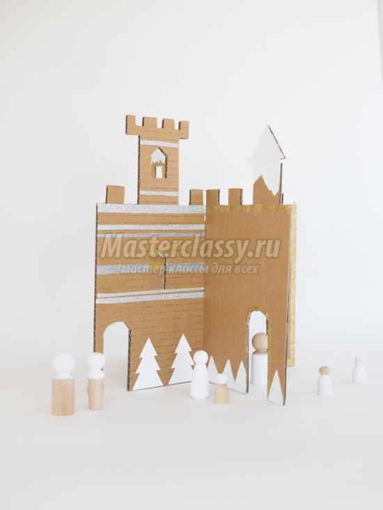 Интересные поделки из картона и бумаги