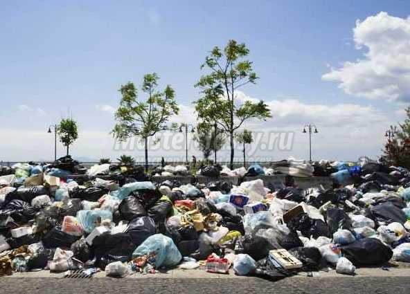 Проблемы утилизации бытового мусора