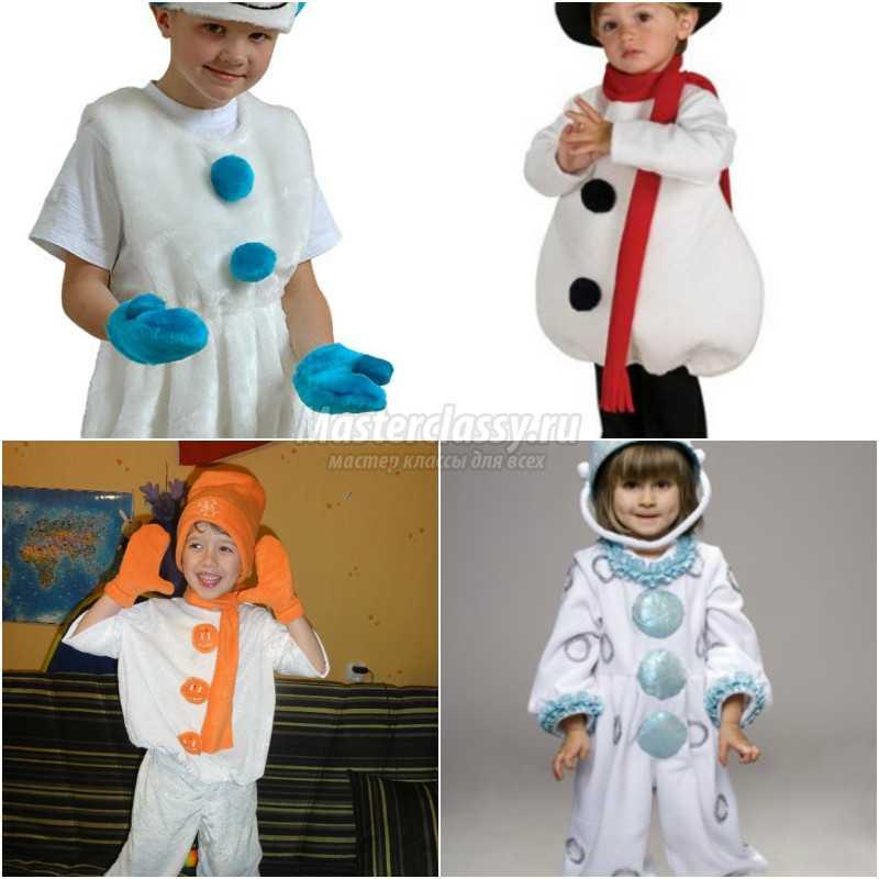 Костюм снеговика своими руками для девочки фото 82
